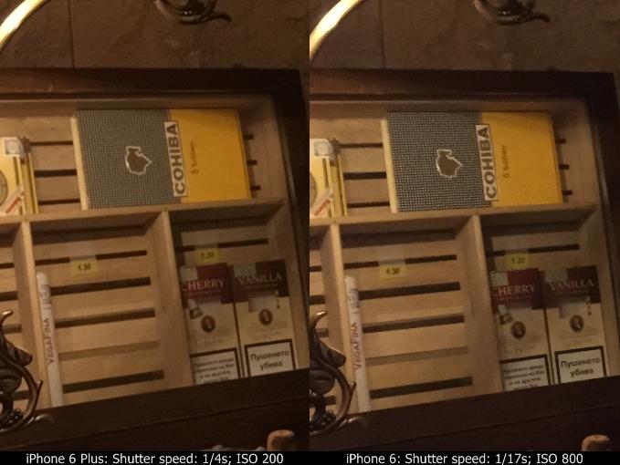 iPhone 6 vs iPhone 6 Plus comparatie camera 2