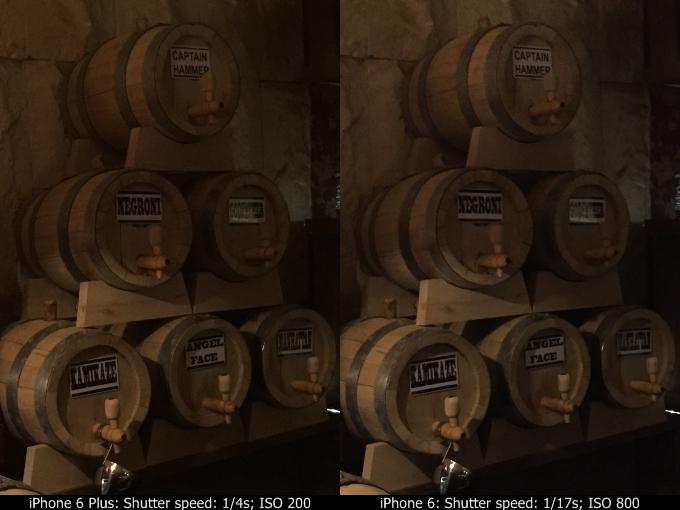iPhone 6 vs iPhone 6 Plus comparatie camera 3