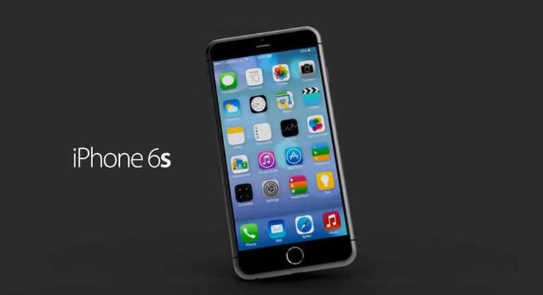 iPhone 6S senzori 3D