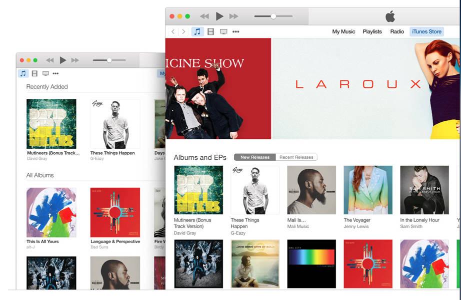 iTunes 12.1.1