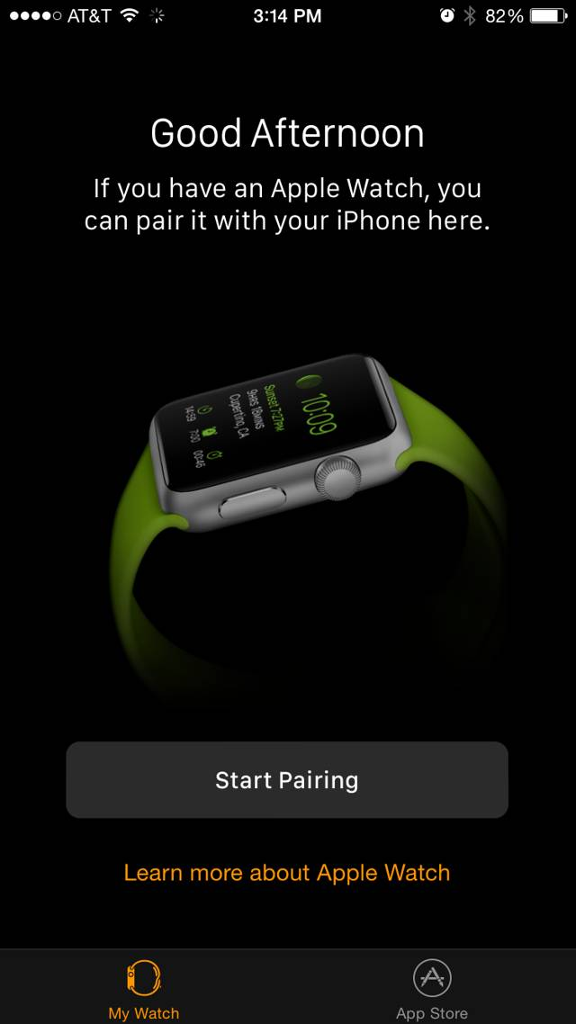 Aplicatie companion Apple Watch pentru iPhone