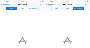 App Store iTunes Store erori