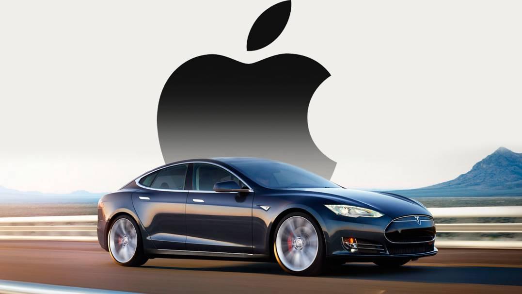 Apple Tesla masina
