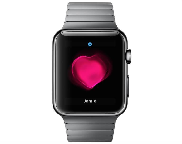 Apple Watch Glance pentru monitorizarea batailor inimii