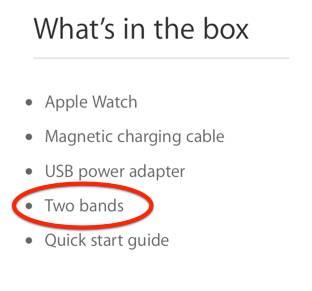 Apple Watch Sport doua bratari