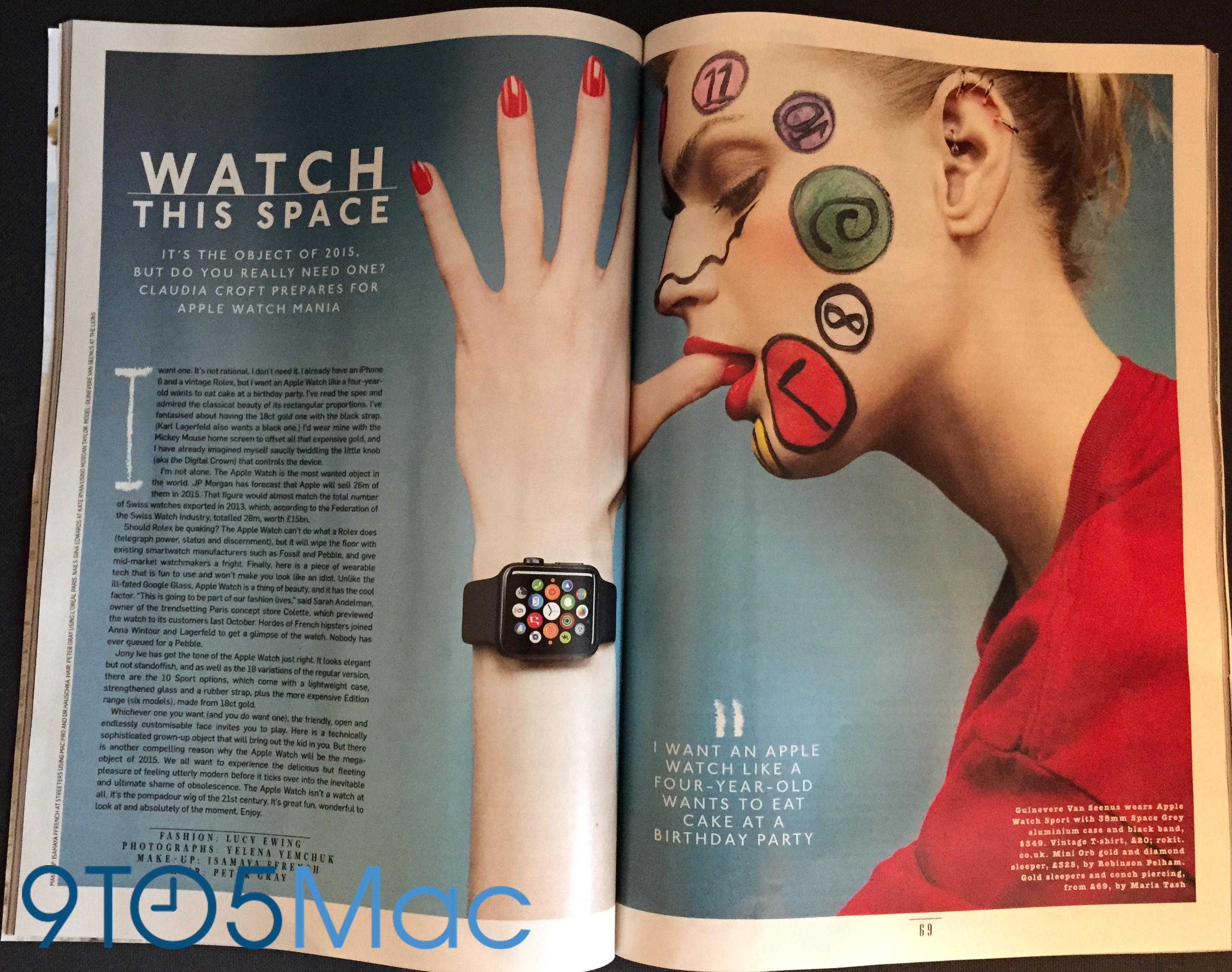 Apple Watch Style magazine 1