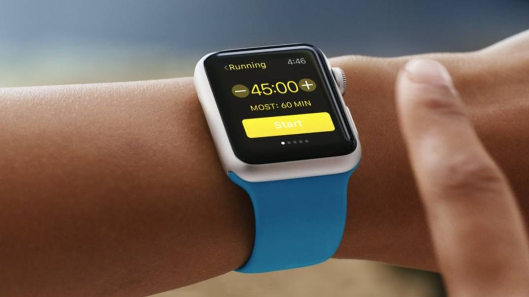 Apple Watch aplicatie alergare