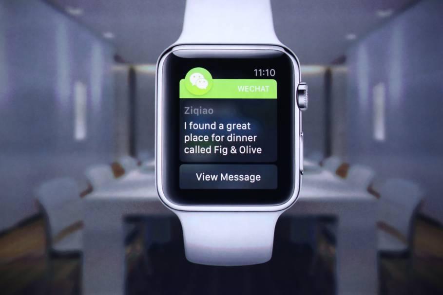 Apple Watch mesaje