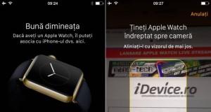 De ce nu apare aplicatia Watch pe iPhone cu iOS 8.2 ?