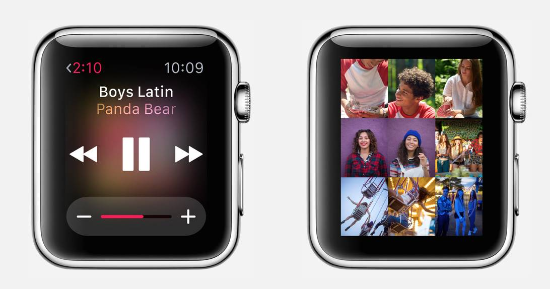 Apple Watch poze aplicatii