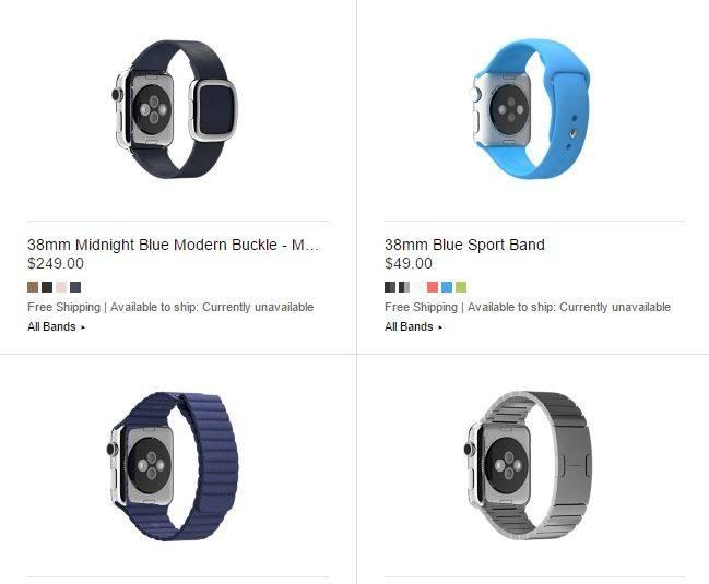 Apple Watch pret bratari accesorii