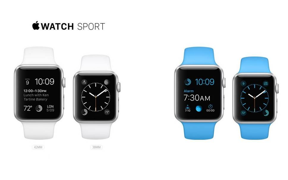 Apple Watch rezistent la apa
