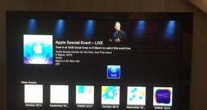 Conferinta Apple Watch LIVE Apple TV