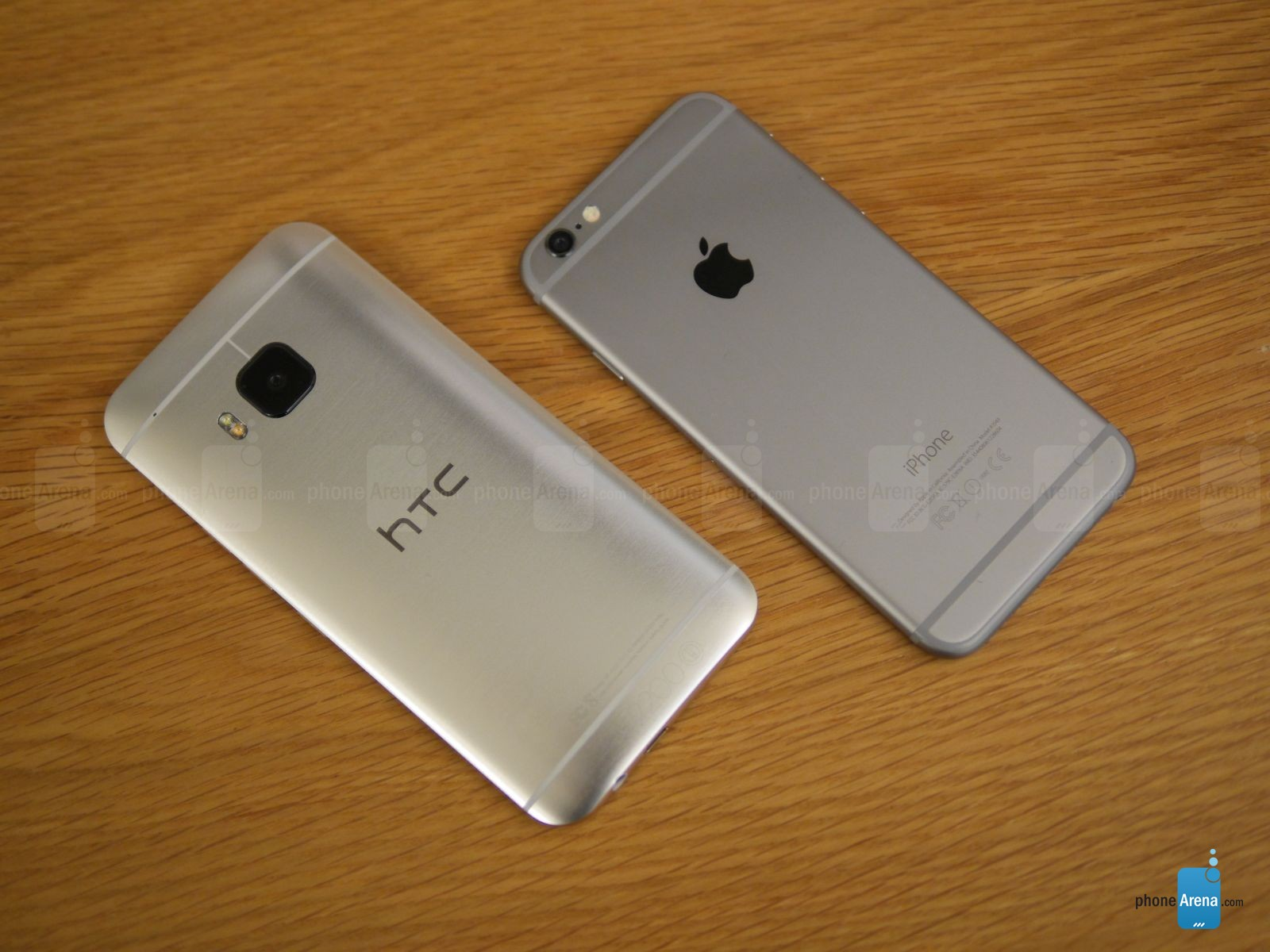 HTC ONE M9 IPHONE 6 comparatie 10