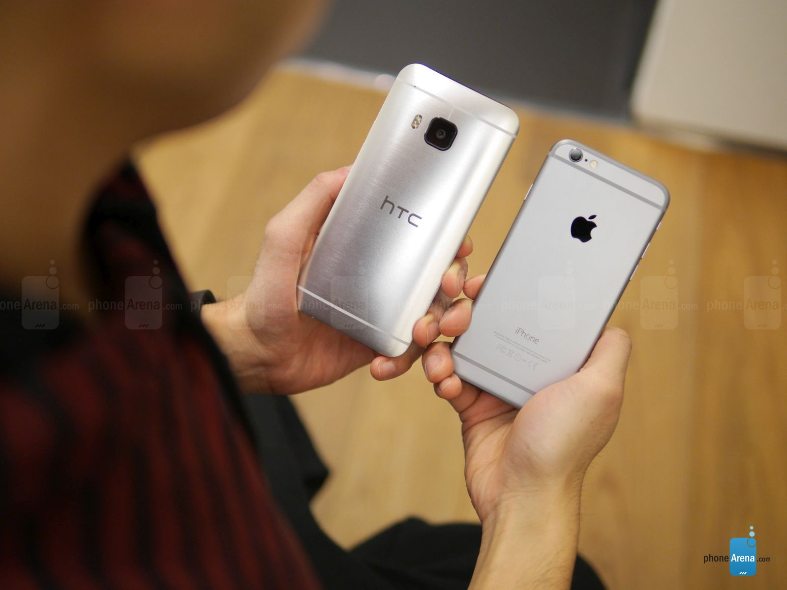 HTC ONE M9 IPHONE 6 comparatie 4