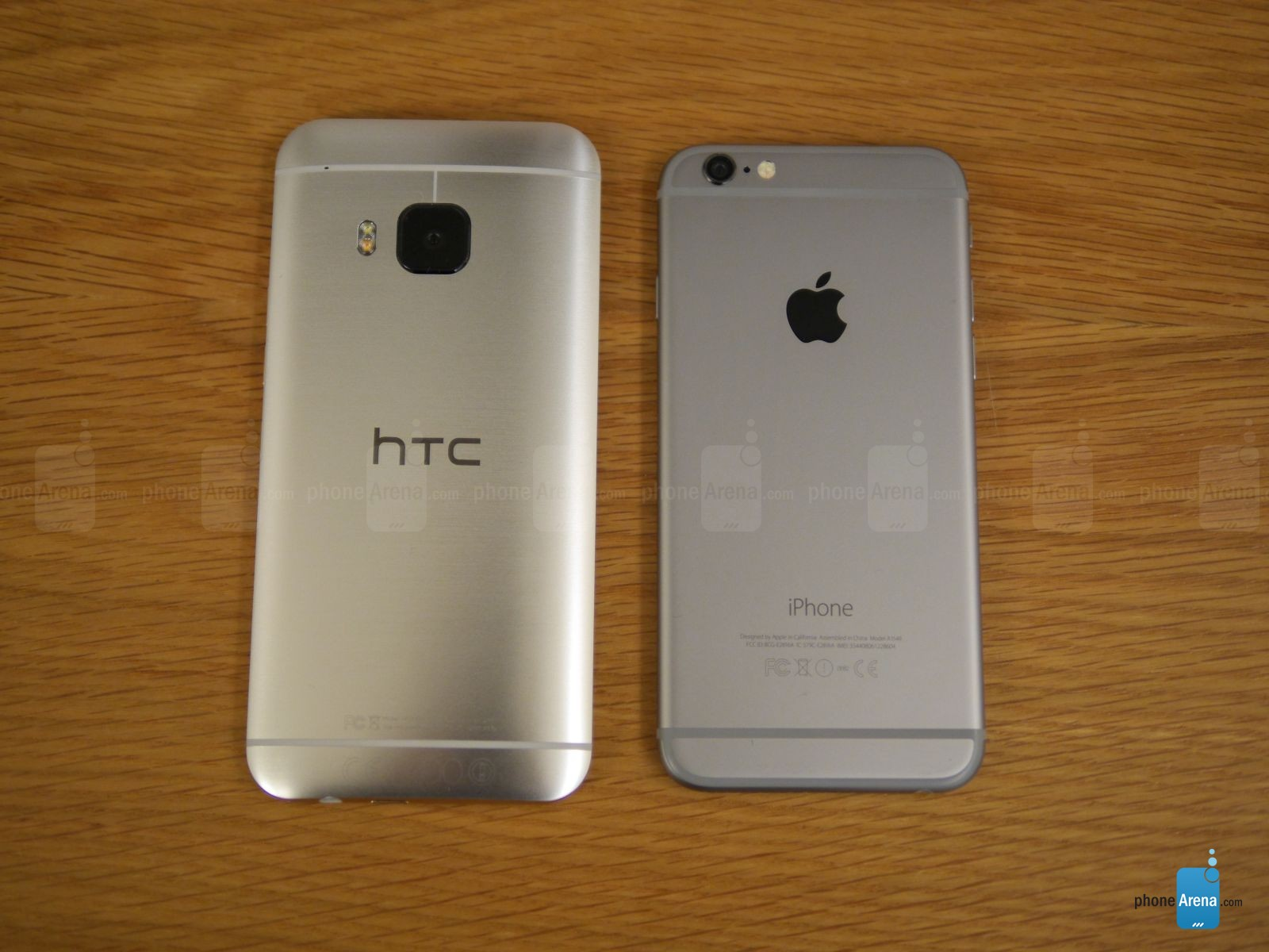 HTC ONE M9 IPHONE 6 comparatie 9