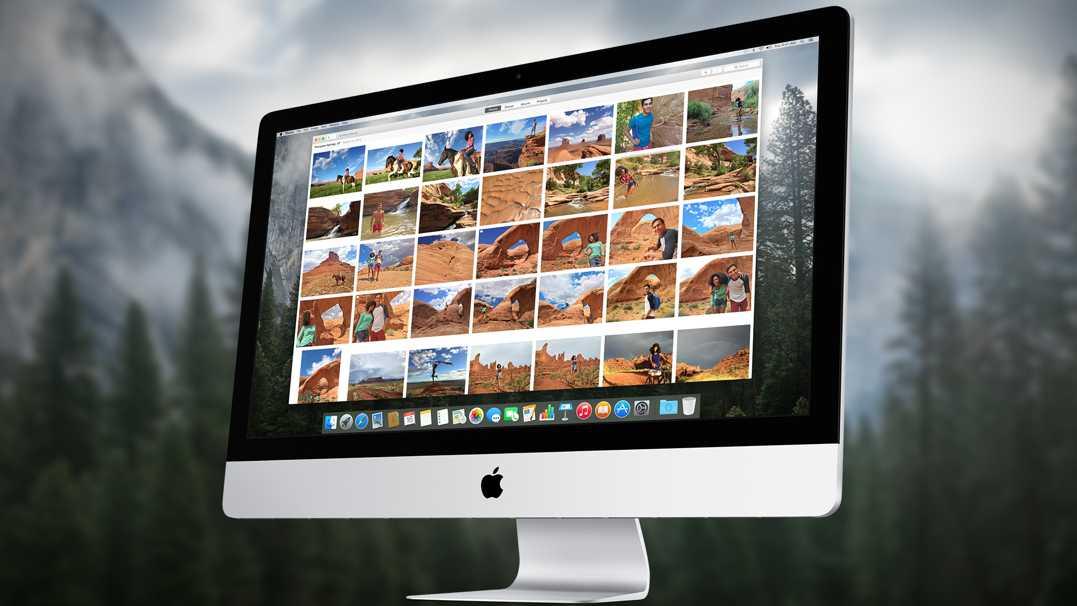 OS X Yosemite 10.10.3 aplicatie Photos