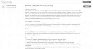 OS X Yosemite 10.10.3 beta 4