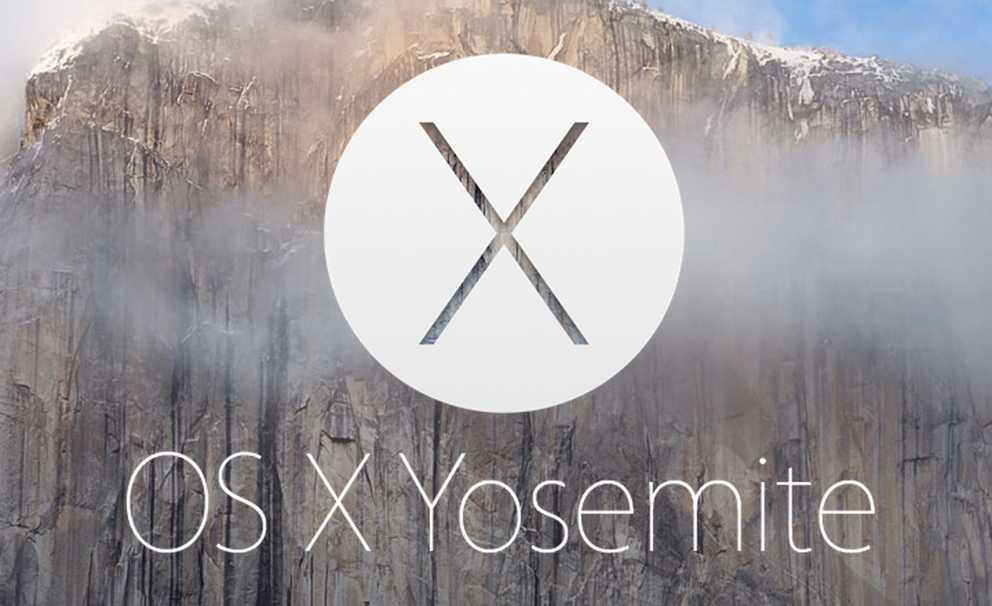 OS X Yosemite hero