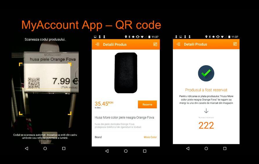 Orange Smart Shop My Account rezervare produs