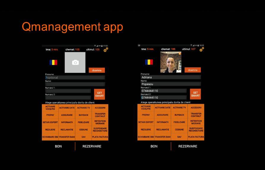 Orange Smart Shop aplicatie primire