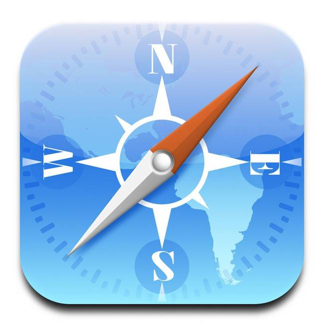 Safari iOS iconita