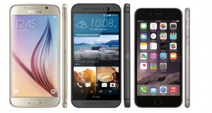 Samsung Galaxy S6 HTC ONE M9 iPhone 6 specificatii