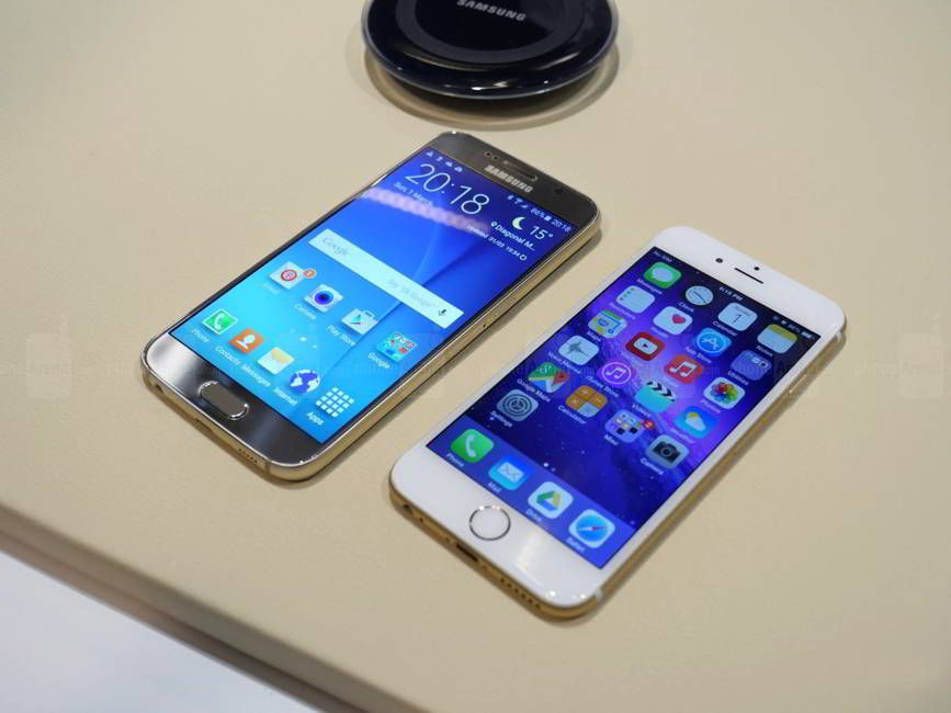 Samsung Galaxy S6 copiat iPhone 6