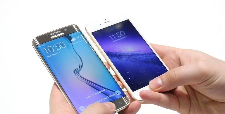 Samsung Galaxy S6 vs iPhone 6 citire amprenta deblocare