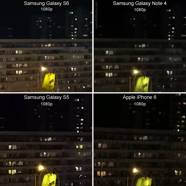 Samsung Galaxy S6 vs iPhone 6 vs Note 4 vs S5 8
