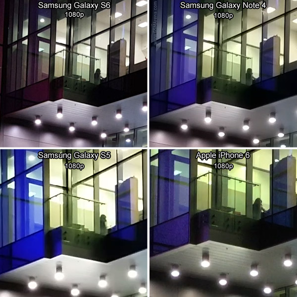 Samsung Galaxy S6 vs iPhone 6 vs Note 4 vs S5 9