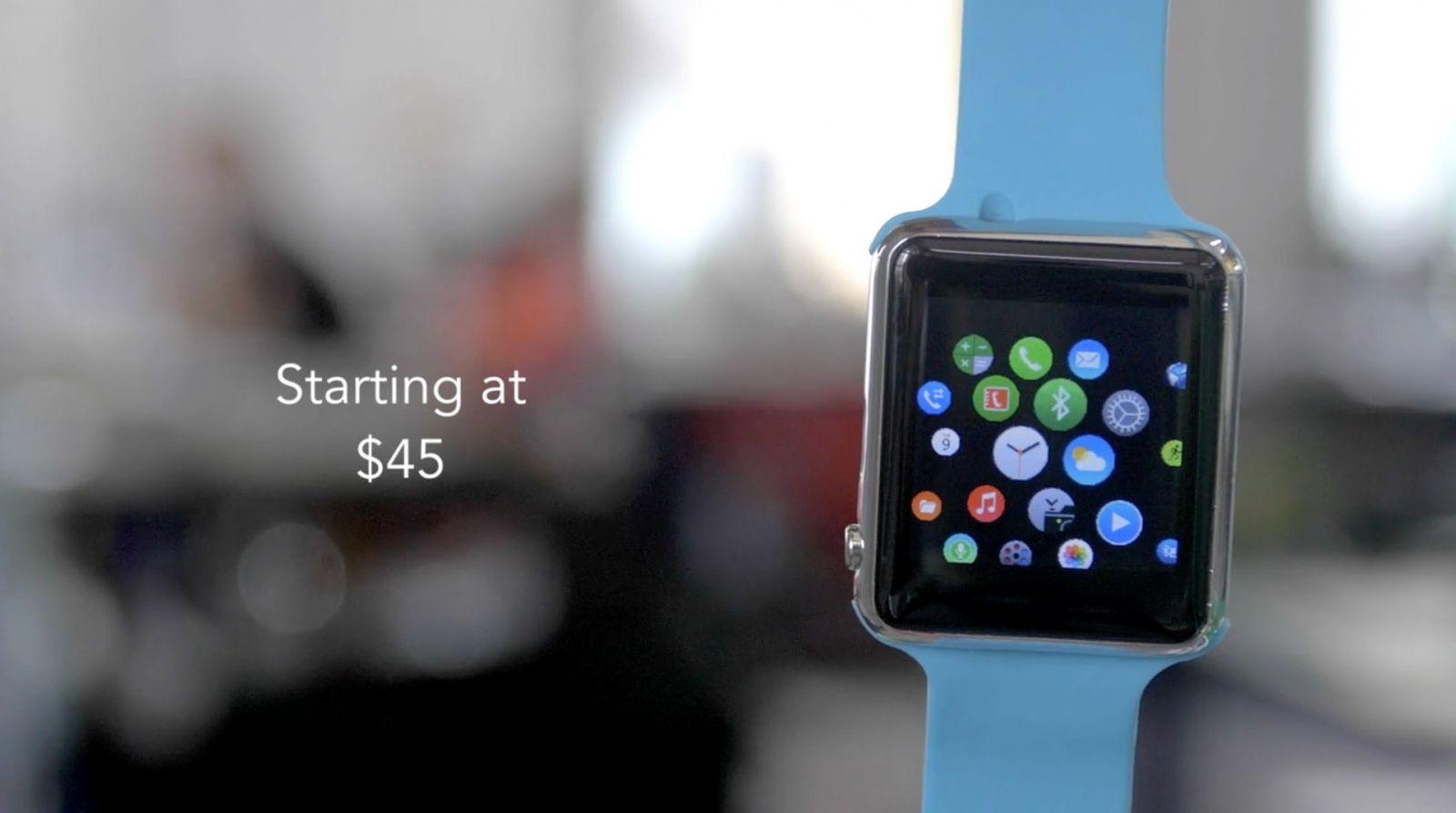 Smart Watch clona Apple Watch 4