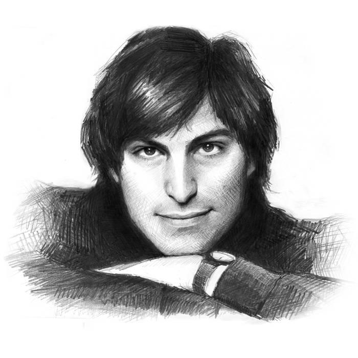 Steve Jobs tanar