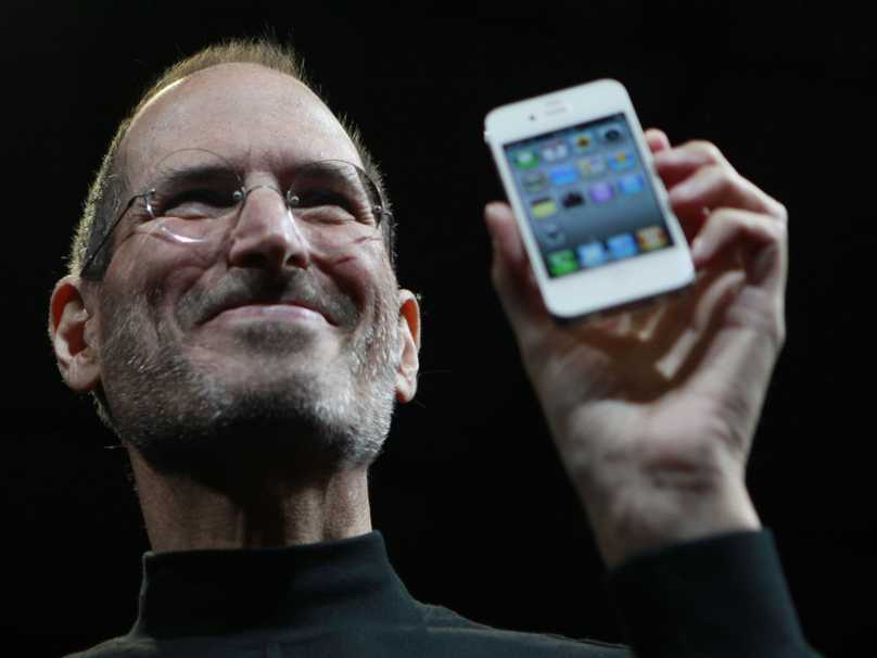Steve Jobs zambing