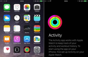 iOS 8.2 Watch Activity