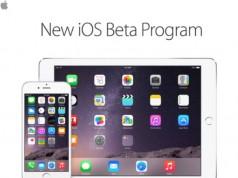 iOS 8.3 beta 3 public invitatie participare