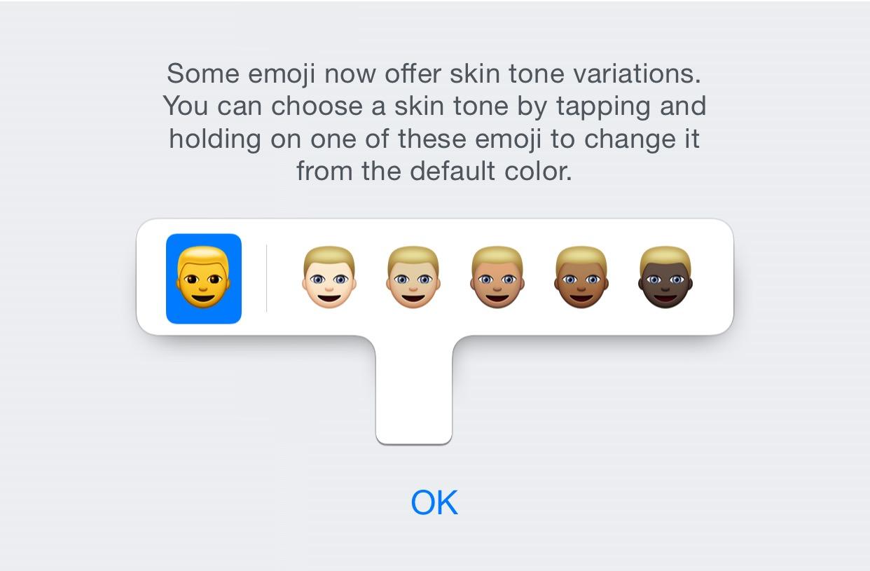 iOS 8.3 beta 4 emoji diverse