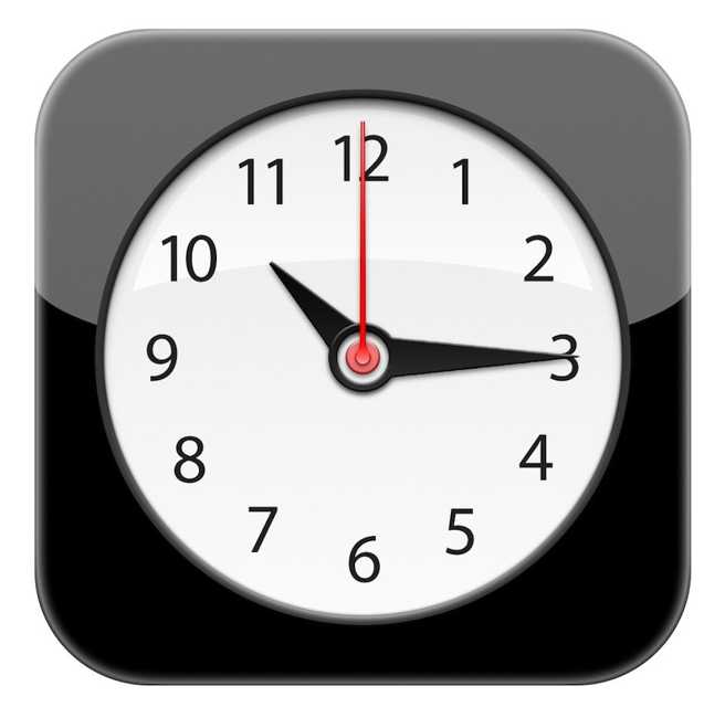 iOS iconita Clock