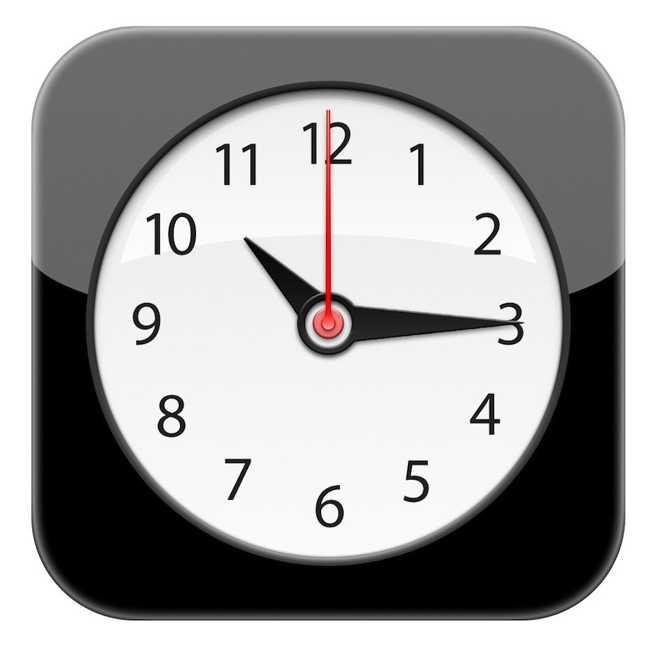 iOS iconita Clock