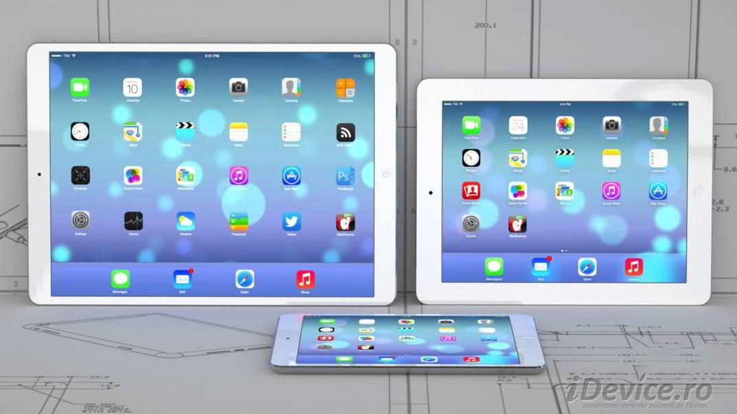 iPad Pro iPad Air Plus concept