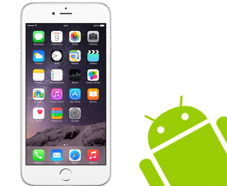 iPhone 6 Android