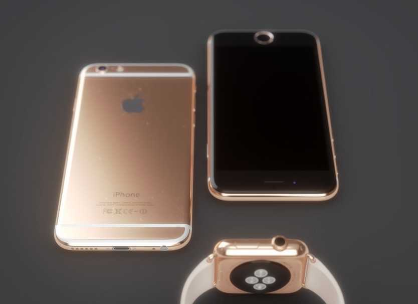 iPhone 6 roz auriu