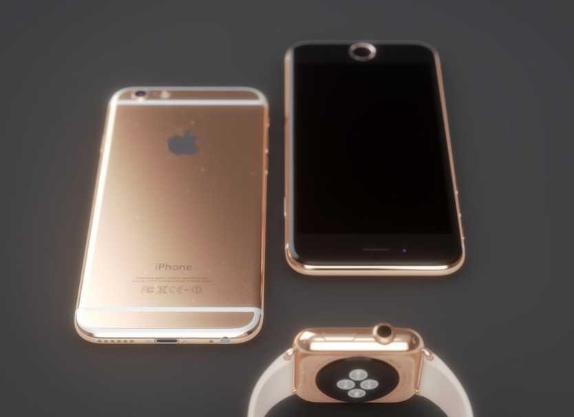 iPhone 6 roz auriu