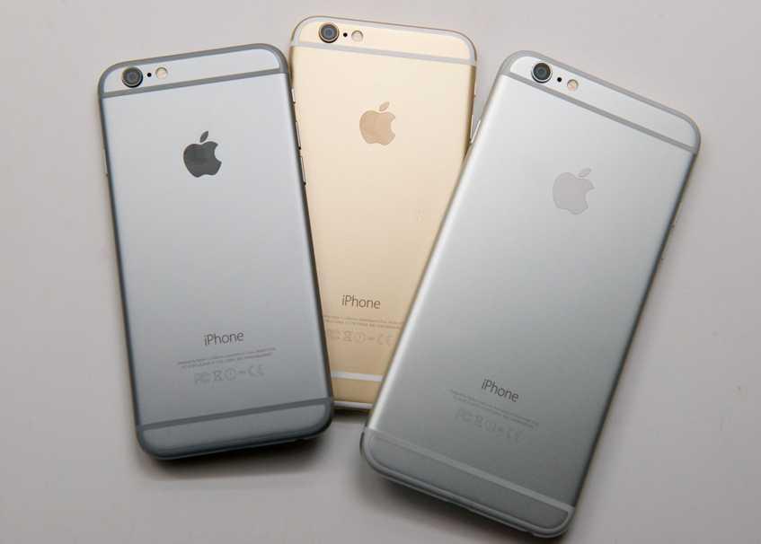 iPhone 6S camera Samsung