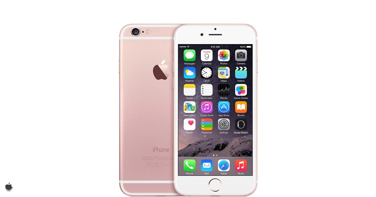 iPhone 6S roz 2