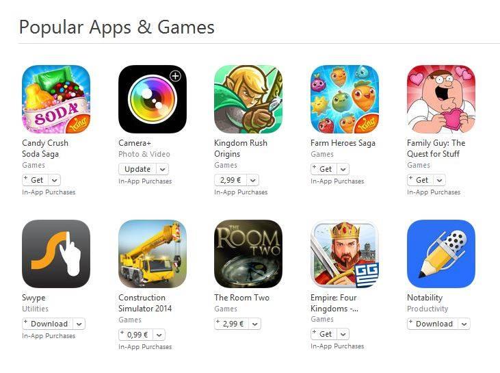 poplar apps games