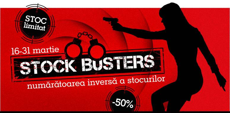reduceri emag Stocks Busters
