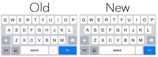 tastatura ios