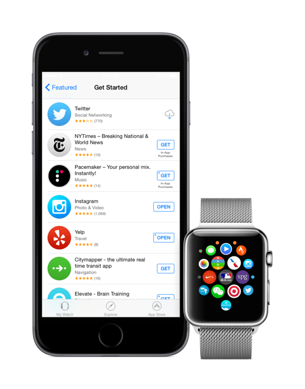 App Store Apple Watch 1
