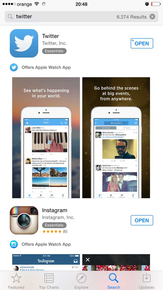 App Store compatibilitate aplicatii Apple Watch